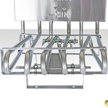Zdjęcie grzałki, automatyczna kontrola temperatury, podwójna frytkownica 2x13 litrów, dostępna w magnum-pro.pl